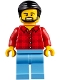 Minifig No: cty0843  Name: Camper, Male Parent