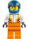 Minifig No: cty0856  Name: Monster Truck Driver