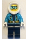 Minifig No: cty0926  Name: Arctic Explorer Female - Fur-Lined Hood, Light Blue Ski Goggles