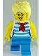 Minifig No: cty0938  Name: Ice Cream Vendor - Striped Shirt