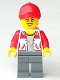 Minifig No: cty0941  Name: Kiosk Attendant