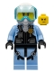 Minifig No: cty0980  Name: Sky Police - Jet Pilot with Oxygen Mask