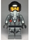 Minifig No: cty0993  Name: Sky Police - Jail Prisoner Jacket over Prison Stripes, Black Helmet, Oxygen Mask