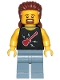 Minifig No: cty1020  Name: Fun Fair Stand Worker