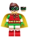 Minifig No: dim041  Name: Robin - Green Glasses, Smile / Worried Pattern - Dimensions Story Pack