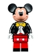 Minifig No: dis019  Name: Mickey Mouse - Tuxedo Jacket (71040)