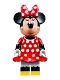 Minifig No: dis020  Name: Minnie Mouse - Red Polka Dot Dress (71040)