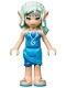 Minifig No: elf031  Name: Naida Riverheart, Dark Azure Skirt