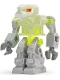 Minifig No: exf004  Name: Devastator - Trans-Neon Green Torso, Red Eyes