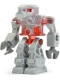 Minifig No: exf009  Name: Robot Devastator 2 - Red Eyes
