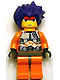 Minifig No: exf024  Name: Ryo - Orange Camouflage (8118)