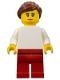 Minifig No: fst022  Name: FIRST LEGO League (FLL) Trash Trek Female