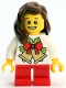 Minifig No: gen110  Name: Lego Kladno PF 2018 Holiday Minifigure Girl