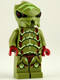 Minifig No: gs001  Name: Alien Buggoid, Olive Green