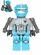 Minifig No: gs002  Name: Dark Azure Robot Sidekick with Jet Pack