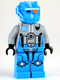 Minifig No: gs007  Name: Dark Azure Robot Sidekick