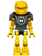 Minifig No: hf017  Name: Hero Factory Mini - Evo