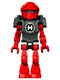 Minifig No: hf021  Name: Hero Factory Mini - Furno - Blue Head