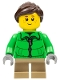 Minifig No: hol075  Name: Winter Holiday Train Girl