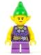 Minifig No: hol085  Name: Elf - Female, Dark Purple Top