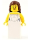 Minifig No: hol113  Name: Bride, Wedding Dress