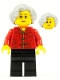 Minifig No: hol141  Name: Grandmother, Chinese New Year's Eve Dinner