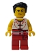 Minifig No: hol147  Name: Dragon Boat Rower Team White / Red 01