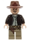 Minifig No: iaj044  Name: Indiana Jones - Open-Mouth Grin