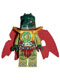 Minifig No: loc024  Name: Cragger - Cape