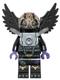 Minifig No: loc033  Name: Rawzom - Flat Silver Armor