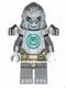 Minifig No: loc048  Name: Grumlo - Flat Silver Heavy Armor