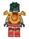 Minifig No: loc092  Name: Cragger - Fire Chi, Heavy Armor