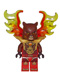Minifig No: loc149  Name: Bladvic - Armor Breastplate, Flame Wings