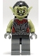 Minifig No: lor011  Name: Moria Orc - Olive Green