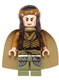 Minifig No: lor105  Name: Elrond, Gold Crown, Pearl Gold and Olive Green Clothing