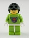 Minifig No: mba001  Name: MBA Level One Minifigure