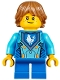 Minifig No: nex036  Name: Robin Underwood - Blue Legs