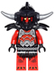 Minifig No: nex045  Name: Ash Attacker - Flat Silver Horns