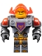 Minifig No: nex069  Name: Axl - Trans-Neon Orange Visor (70350)