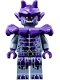 Minifig No: nex102  Name: Stone Stomper - Dark Purple Markings and Shoulder Armor (70357)