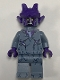 Minifig No: nex123  Name: Stone Stomper - Dark Purple Cracks