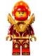 Minifig No: nex133  Name: Macy - Pearl Gold Armor