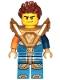 Minifig No: nex147  Name: Clay - Armor, Hair