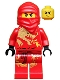 Minifig No: njo009  Name: Kai DX (Dragon Suit) - The Golden Weapons