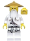 Minifig No: njo064  Name: Sensei Wu - Pearl Gold Hat