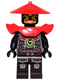 Minifig No: njo081  Name: Swordsman - Yellow Face Markings