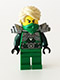 Minifig No: njo104  Name: Lloyd Garmadon - Flat Silver Shoulder Armor