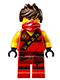 Minifig No: njo117  Name: Kai - Sleeveless