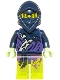 Minifig No: njo144  Name: Ghost Ninja Hackler / Ghost Warrior Yokai - Scabbard
