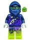 Minifig No: njo146  Name: Ghost Ninja Attila - No Scabbard (70735)
